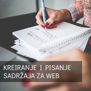 kreiranje i pisanje sadržaja za web