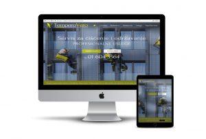 Primjer web stranice koju smo napravili za klijenta